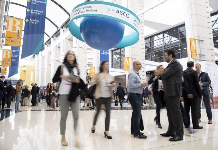 General views of the 55th Annual Meeting of the American Association of Clinical Oncology (ASCO) - held in the McCormick Place in Chicago, Ill. Courtesy: 2019 © ASCO/Max Gersh.